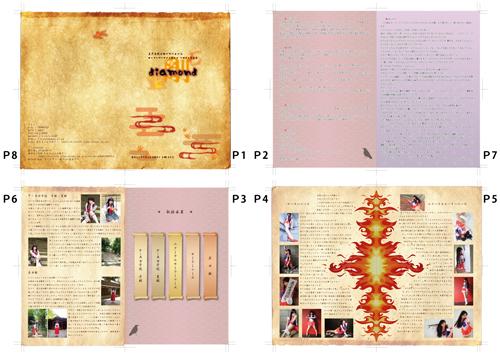 美少女戦士セーラームーン セーラーマーズ/火野レイ コスプレ写真集「diamond」冊子