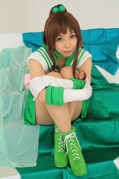 美少女戦士セーラームーン セーラージュピター/木野まこと コスプレ写真集「Turquoise」サンプル